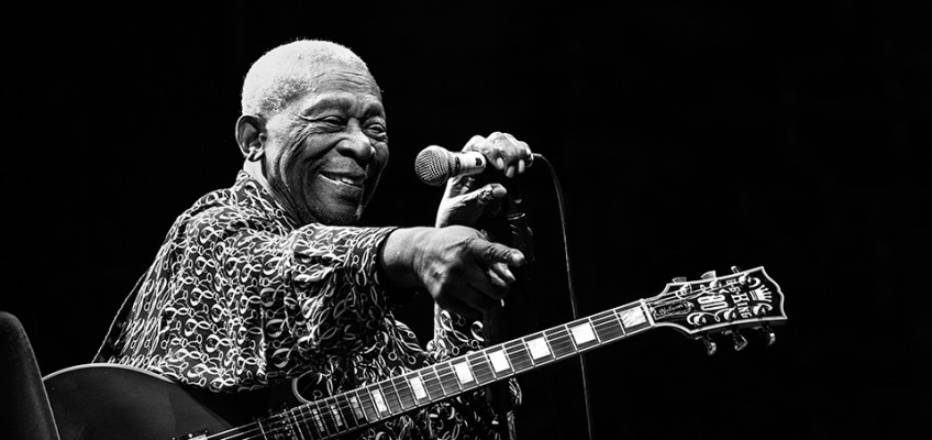 B.B. King, Pistoia Blues Festival, 15/07/2012